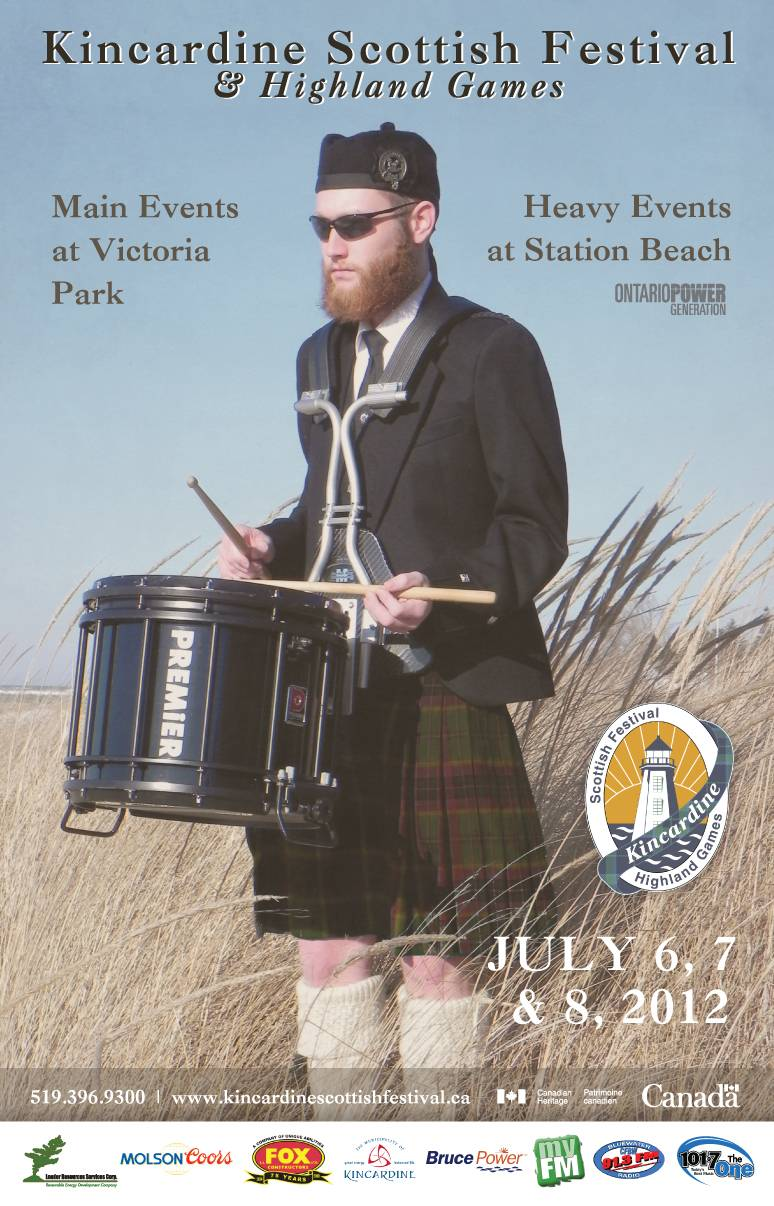 Scottish Festival Posters