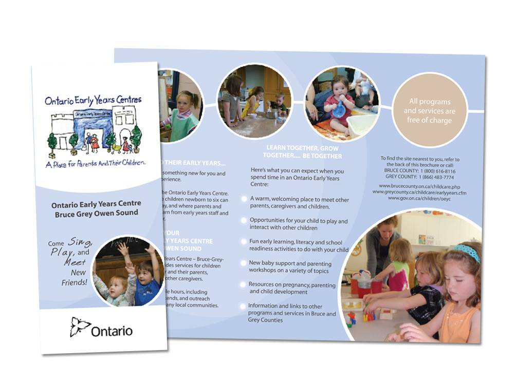 Ontario Early Years Centres Brochure